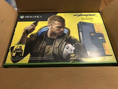 New! Xbox One X Cyberpunk 2077 Limited Edition Console 1TB (SOLD OUT)