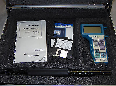 Tsi Q-trak 8550 Air Quality Tester Co2 Temp Humidity