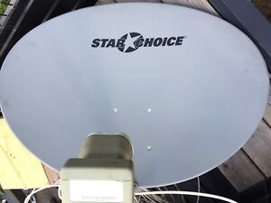 SHAW DIRECT 75E SATELLITE DISH