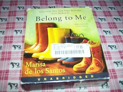 13 CD UNABRIDGED AUDIOBOOK, BELONG TO ME, MARISA de los (Belong To Me Marisa De Los Santos)