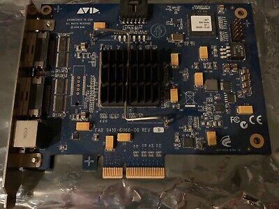 AVID HD Native PCIe Card for Pro Tools, Logic, Ableton, Cubase, Studio One & FL segunda mano  Embacar hacia Mexico