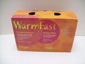 Microwave Heating Warming Pillow Neck, Back, Legs, Feet, Hands - NEW