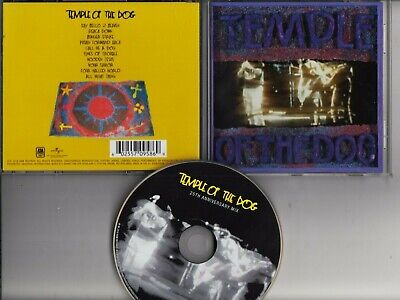 TEMPLE OF THE DOG Temple Of The Dog 25th Anniversary MIX 2016 CD