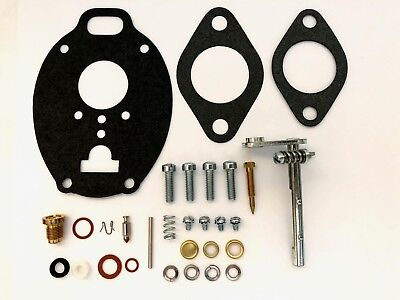 Massey Ferguson Marvel Schebler Carburetor Kit W Shaft - 65 165 175 180
