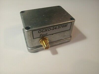 24.576mhz Ocxo Quartz Reference Oscillator Constant Temperature Low Phase Noise