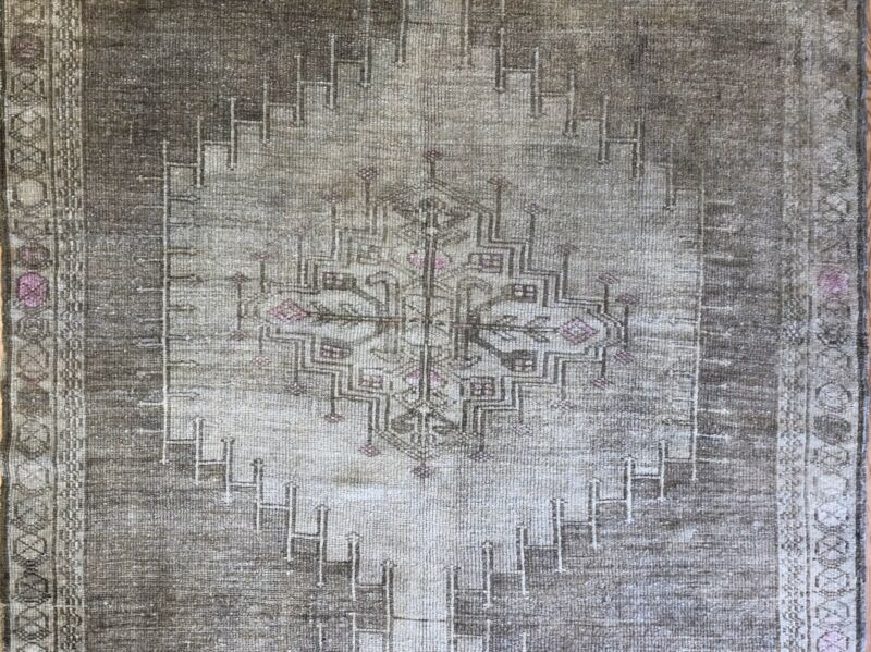 Oustanding Oushak - 1930s Antique Turkish Rug - Gallery Carpet - 5.2 X 12.6 Ft.