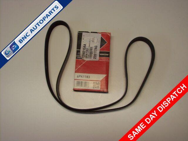 ALTERNATOR DRIVE BELT for LAND ROVER FREELANDER MK1 2.0 TD (NO A/C) 1998 - 2000