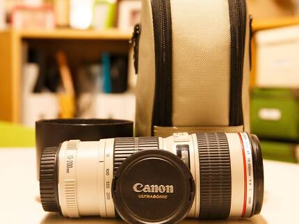 Canon EF 70-200 F4L USM (Comes with LZ1326 Case) Chadstone Monash Area Preview