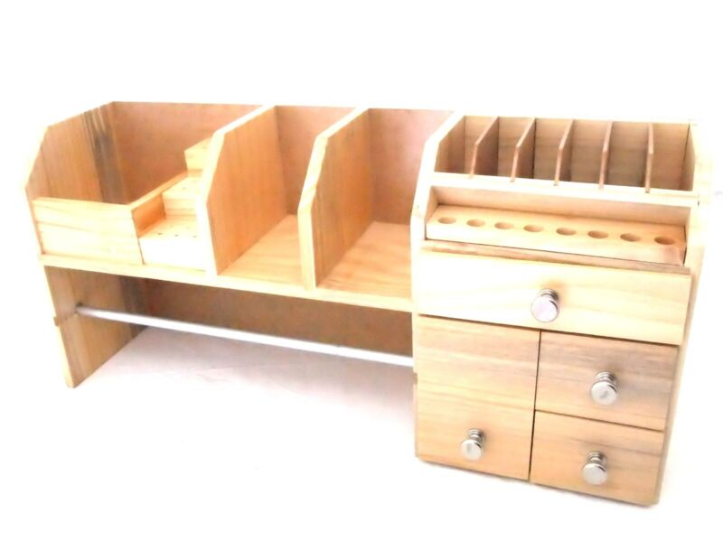Bench Top Organizer And Stand For Tools And Wire