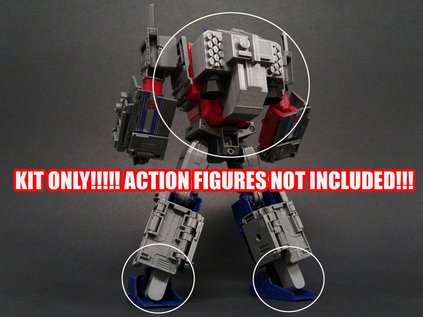 DSA-05 Transformers PotP Optimus Prime & Orion Pax Back & Jetpack kit.