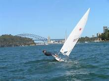 Laser Sailing Dinghy Greenwich Lane Cove Area Preview