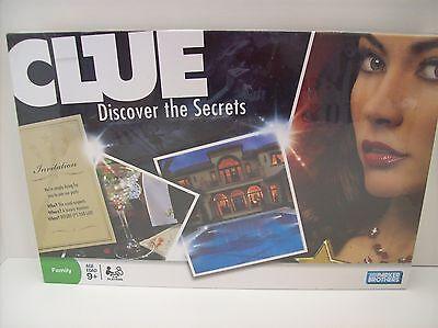 Clue Brand New Shrink Wrap Board Game Rare