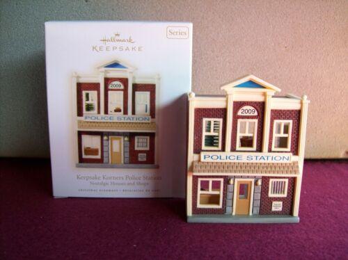 2009 Hallmark  Keepsake Korners Police Station   #26  Nostalgic Houses and Shops