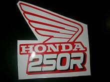 HONDA CR 250 RADIATOR SHROUD STICKERS 88-89 MODEL Cameron Park Lake Macquarie Area Preview