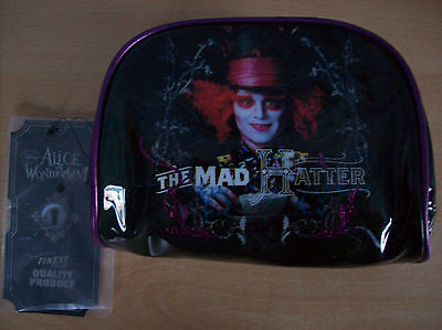 Bag Cosmetic Bag The Mad Hatter Johnny Depp Disney Loungefly New With Tags (The Mad Hatter Makeup)