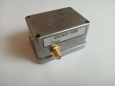 10 Mhz Ocxo Quartz Reference Oscillator Constant Temperature Low Phase Noise