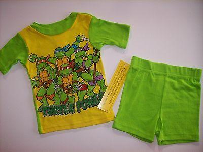 Teenage Mutant Ninja Turtles Pajamas 2pc Set Boys Sleepwear 2T 3T 4Toddler NWT   (Teenage Mutant Ninja Turtles Toddler Clothes)