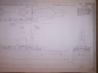 ships plan liner NORMANDIE