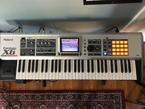Roland Fantom-X6 61 Keyboard Synthesizer, great condition, with or w/o hard case