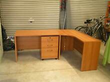 Office Desks,Hutch and Filing Cabinet Wickham Newcastle Area Preview