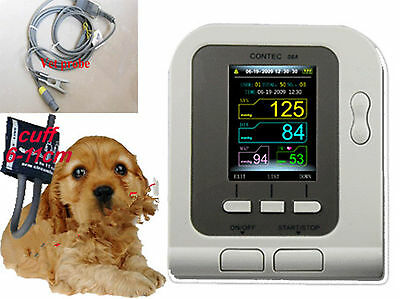 Hotnew 08a Vetveterinary Use Digital Blood Pressure Monitor With Spo2 Sensor