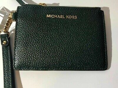 Michael Kors Mercer Pebbled Leather Small Coin Purse
