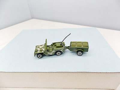 Zee Zylmex Army Jeep - AWESOME - Vintage T432 - HO Scale