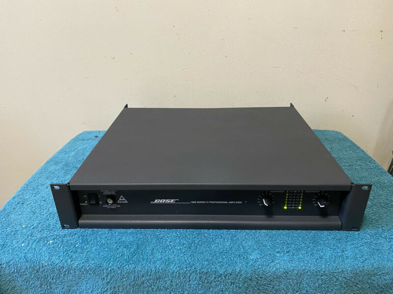 Bose 1600 series VI Power Amplifier