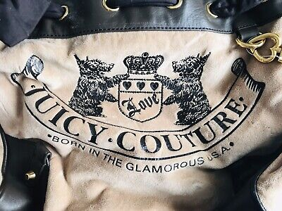 Brown Designed Juicy Couture Medium Sized Shoulder Bag