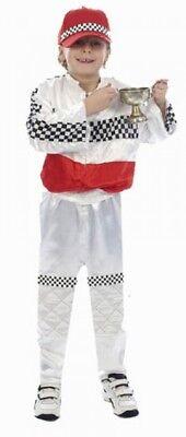 Rennfahrer Kostüm Junge Fasching Formel 1 Fahrer Kinderkostüm Karneval Cars - Cars Kinder Kostüm