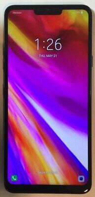 TESTED GSM UNLOCKED BLACK LG G7 G710VM, 64GB 4G LTE ANDROID SMARTPHONE H35F