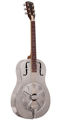 Gold Tone Paul Beard Signature Metal Body Round Neck Resonator Guitar GRS - NEW