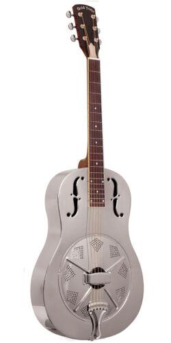 Gold Tone Paul Beard Signature Metal Body Round Neck Resonator Guitar GRS - NEW