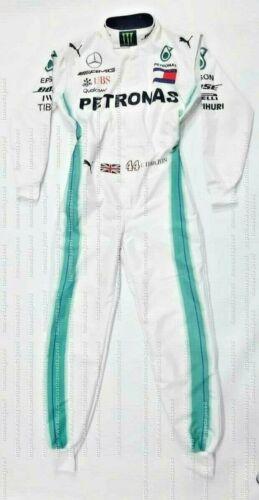 2019 Lewis Hamilton F1 Mercedes-Benz Racing Suit Go Kart Suit Karting F1 suit