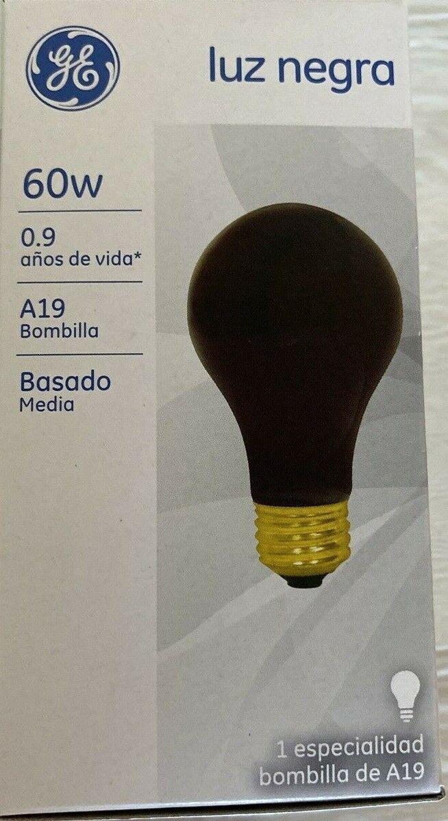 GE Lighting 25905 60-watt A19 Light Bulb with Medium Base, B