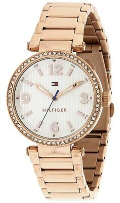Tommy Hilfiger Original 1781590 Womens Rose Gold Stainless Steel Watch 32Mm