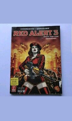 Command and Conquer Red Alert 3 Official Prima Strategy guide PC Xbox 360 (Command And Conquer Red Alert 3 Pc)