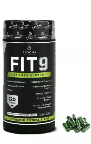 SASCHA FITNESS FIT 9 FAT LOSS SUPPORT Capsules