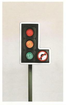 Postcard David Mellor, Traffic Light 1965 Design Museum MINT Unused
