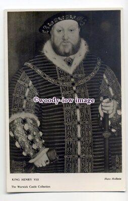 r1633 - King Henry VIII - postcard