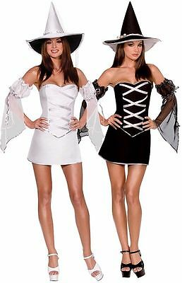 WHICH WITCH? REVERSIBLE WITCH ADULT HALLOWEEN COSTUME WOMEN'S SIZE LARGE](Which Halloween)