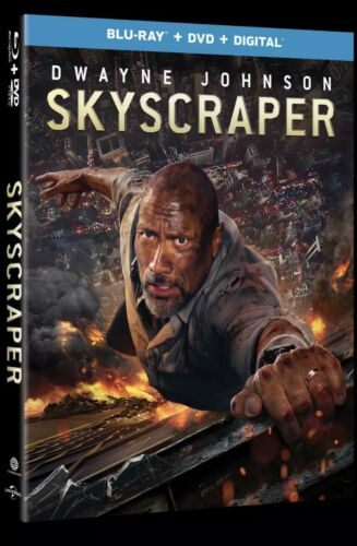 SKYSCRAPER(BLU-RAY+DVD+DIGITAL)W/SLIPCOVER NEW