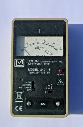 Ludlum Measurements Analog  Nuclear Radiation Meter model 2401-S