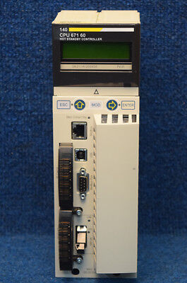 Modicon Schneider 140-cpu-671-60 140cpu67160 Cpu Module Quantum Processor Hsby
