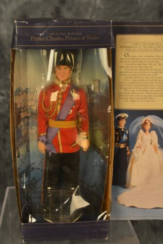 """Goldberger 1982 Prince Charles of Wales 11.5"""" Doll Guard Outfit  NRFB"""