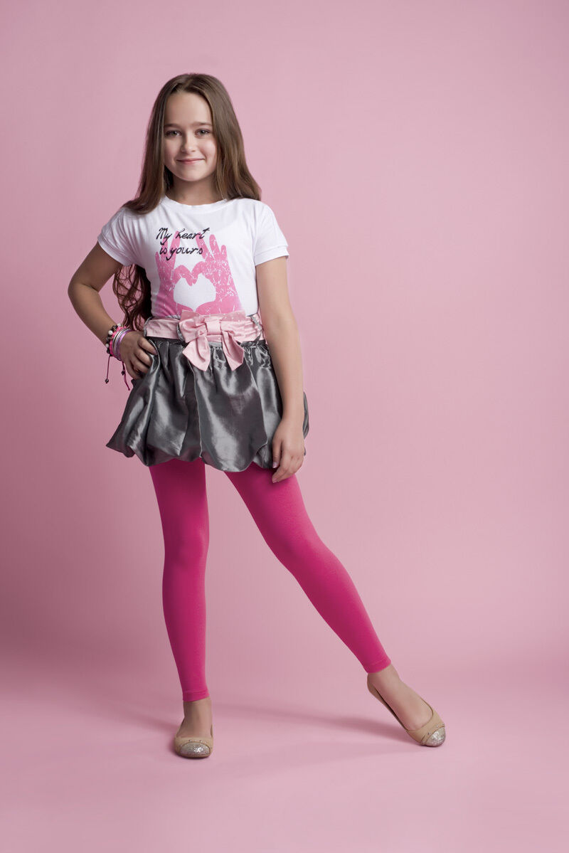 379669c51e4bb New Girls Kids Children Cotton Full Ankle Length Leggings Age  3/4/5/6/7/8/10/12