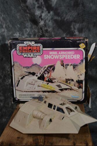 1980 Kenner Star Wars REBEL ARMORED SNOWSPEEDER Empire Strikes  PARTS OR REPAIR