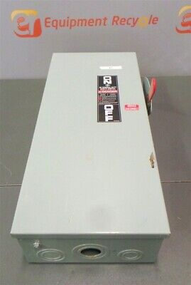 Ge Panel Circuit Safety Switch Breaker Box Tg4323 Model 8