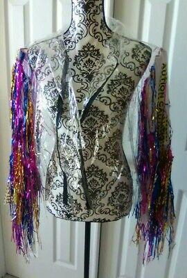 Birds of Prey Harley Quinn Cosplay Women's Costume Jacket L XL