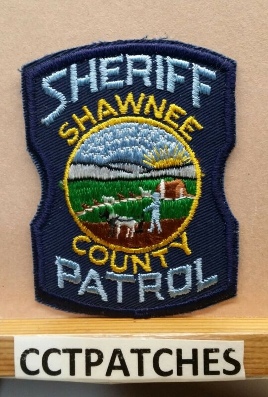 SHAWNEE COUNTY, KANSAS SHERIFF PATROL (POLICE) SHOULDER PATCH KS